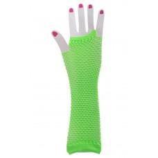 Fishnet Glove long [Colour: Green]