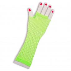 Fishnet Glove long [Colour: Yellow]