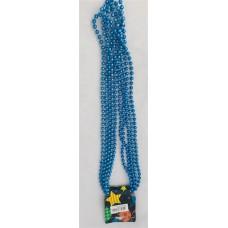 Metallic ball chain 84mm BLUE