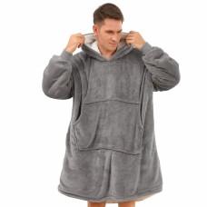 Grey Hoodie blanket